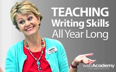Teaching Writing Skills All Year Long