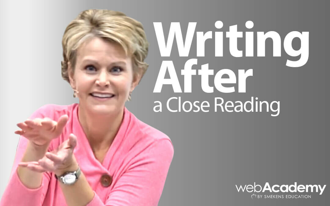 Writing After a Close Reading