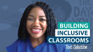 How can I be intentional about building an inclusive learning environment