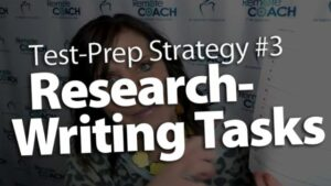 Live Coaching Call 3 Test-Prep Series—Strategy #3 Research-Writing Tasks