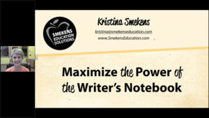 Maximize the Power of the Writer's Notebook