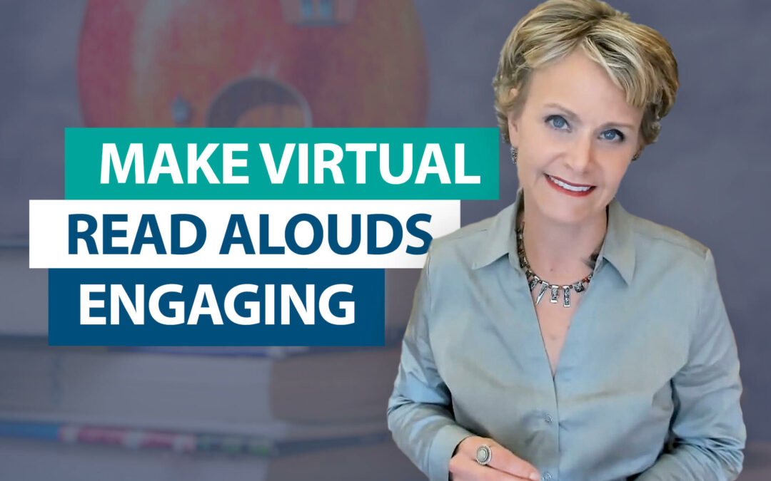 How do you engage students during a virtual read aloud