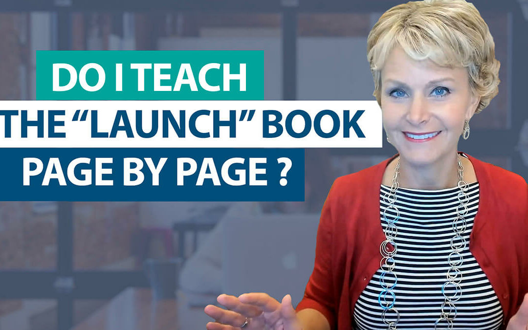 Do I teach Launching the Writer's Workshop lessons from start to finish, page by page