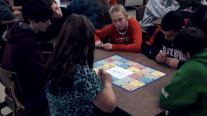 Classroom Activity: ABC Chart Carousel - Math Vocabulary Review
