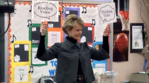 Mini-Lesson: Introduce Reading Voice & Thinking Voice