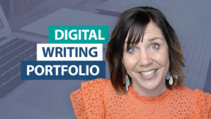 How can my students create a digital writing portfolio?