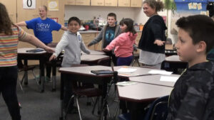 Classroom Activity: Stand Up, Sit Down  (Grade 4)