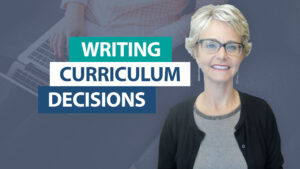What curriculum will improve our writing instruction?