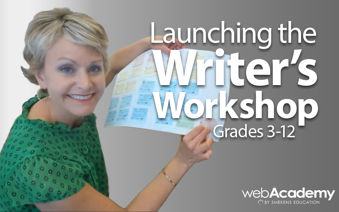 Launching the Writer's Workshop: 3-12